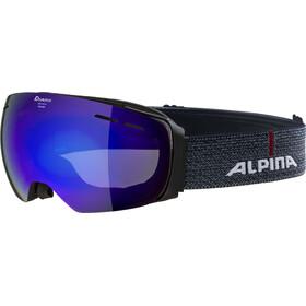 Alpina Granby MM Goggles black matt blue spherical